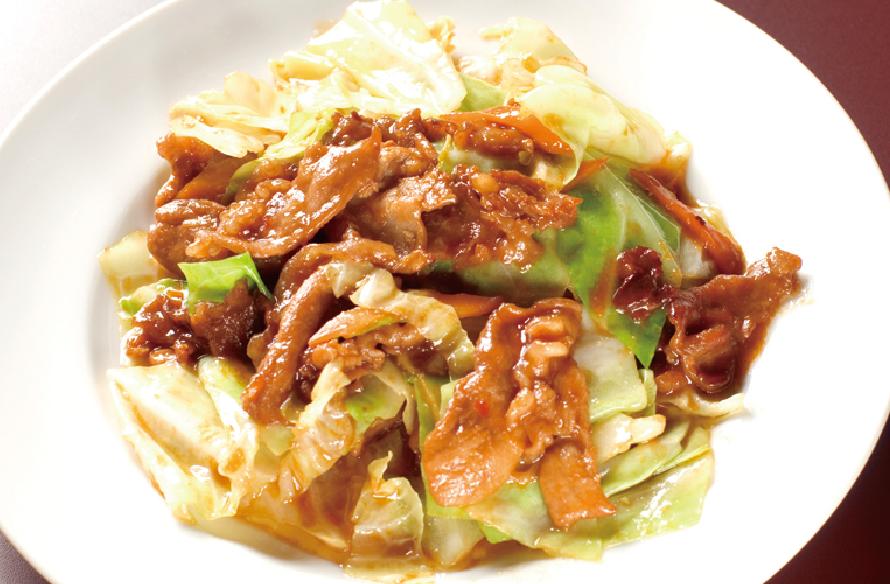 肉キャベツ味噌炒め