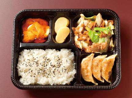 肉キャベツ味噌炒め弁当