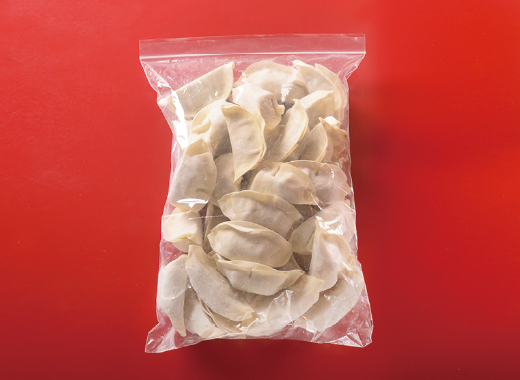 冷凍生餃子包装